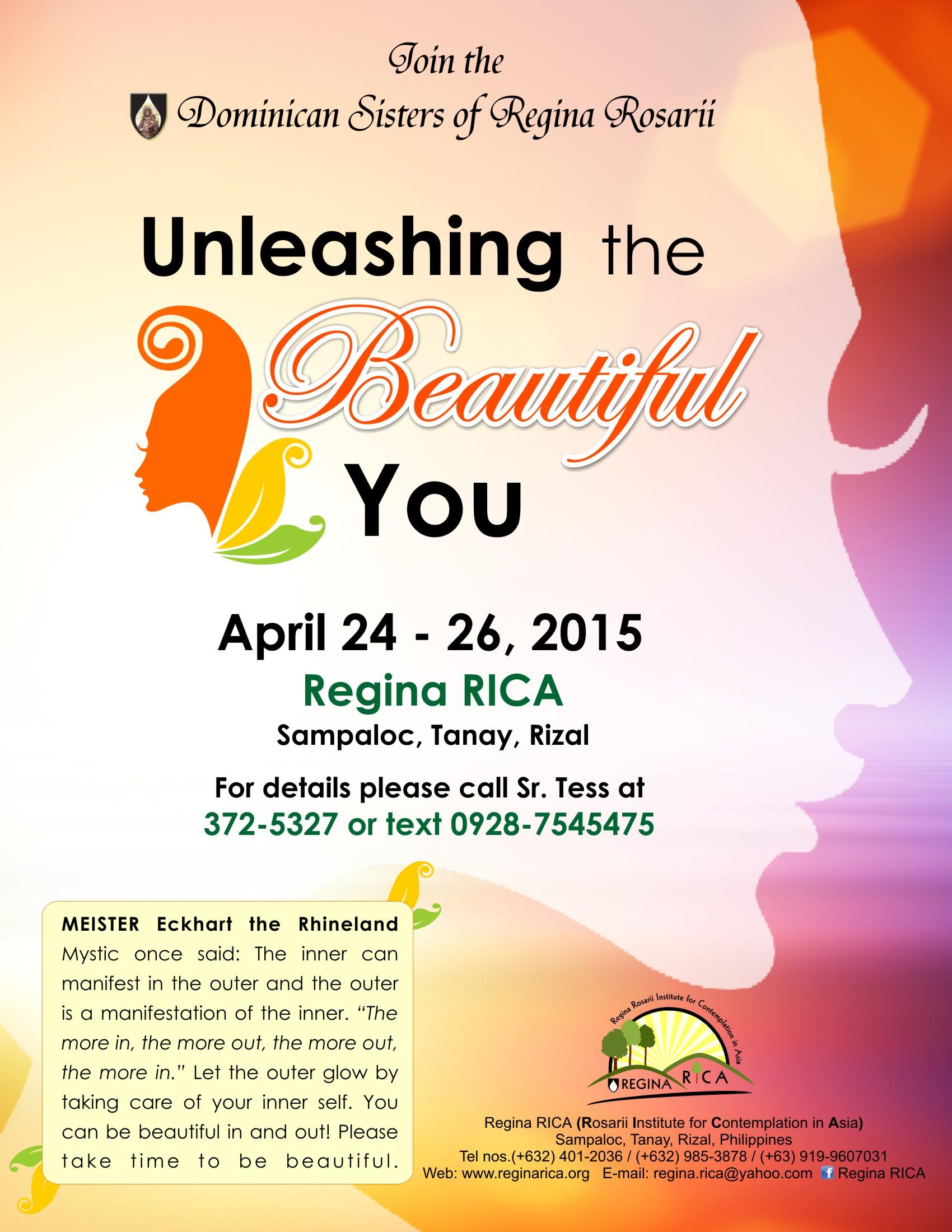 Unleashing the Beautiful You