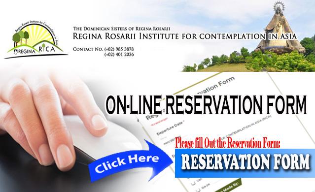 Reservation form- Banner1