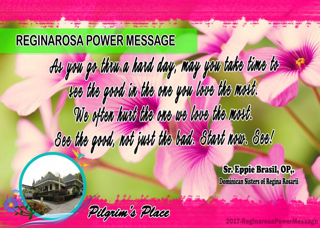 05222017 Power Message
