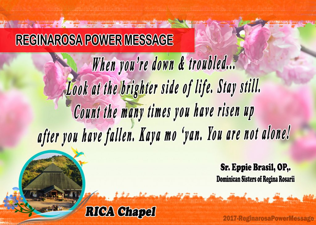 05272017 Power Message
